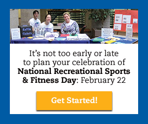 It's never too late to plan for Rec Day!