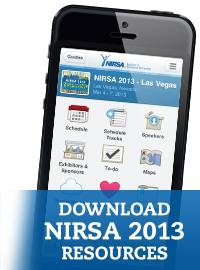 Check out the great menu of resources for NIRSA 2013!